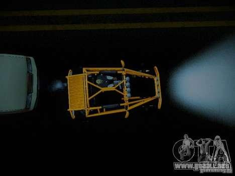 Buggy From Crash Rime 2 para GTA San Andreas vista hacia atrás