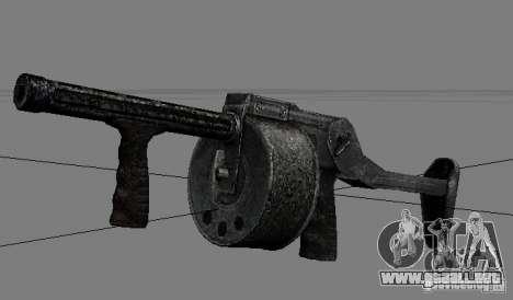 Un conjunto de armas de acosador V2 para GTA San Andreas sexta pantalla