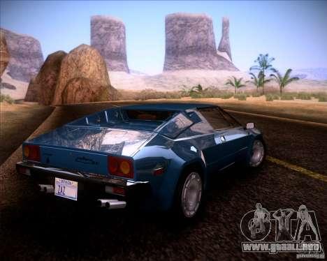 Lamborghini Jalpa 3.5 1986 para GTA San Andreas left