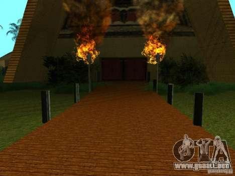 Nuevas texturas para casino peregrino para GTA San Andreas segunda pantalla