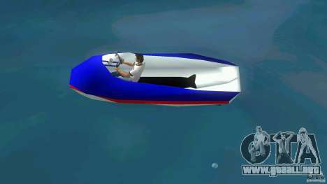 Speedboat dinghy para GTA Vice City left