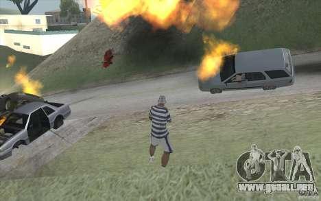 Ola de fuego para GTA San Andreas tercera pantalla
