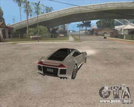 Saleen S5S Raptor para la visión correcta GTA San Andreas