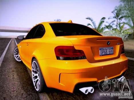 BMW 1M E82 Coupe para la visión correcta GTA San Andreas