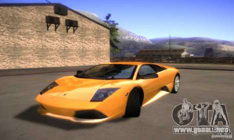 Graphic settings para GTA San Andreas