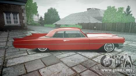 Cadillac De Ville v2 para GTA 4 vista interior