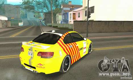 BMW M3 2008 Hamann v1.2 para el motor de GTA San Andreas