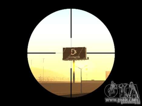 AWP para GTA San Andreas segunda pantalla
