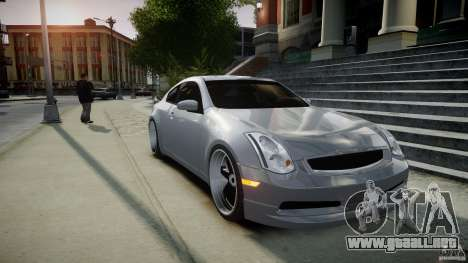 Infiniti G35 Coupe 2003 JDM Tune para GTA 4 vista interior