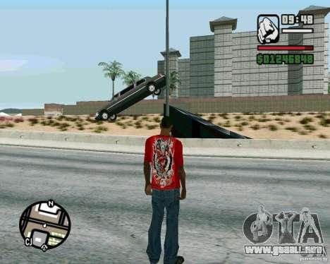 Salta sobre la autopista, en Las Venturase para GTA San Andreas segunda pantalla