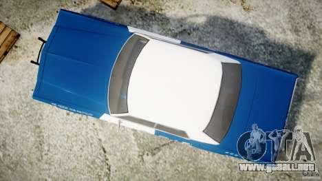 Dodge Monaco 1974 (bluesmobile) para GTA 4 visión correcta