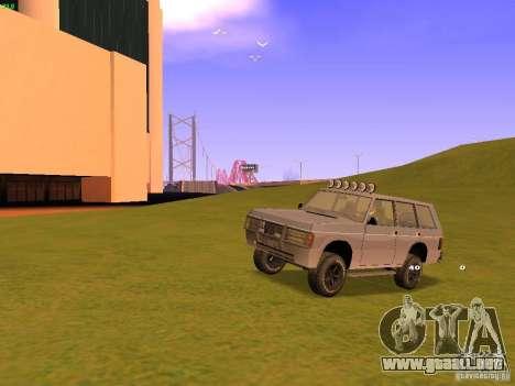 Huntley Superior para las ruedas de GTA San Andreas
