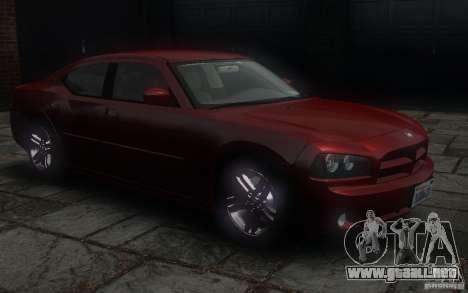 Dodge Charger RT Hemi 2008 para GTA 4 vista lateral