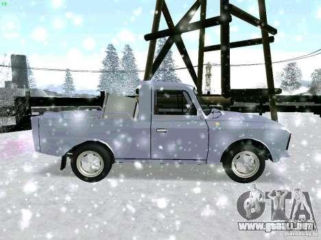 IZH-27151 para visión interna GTA San Andreas