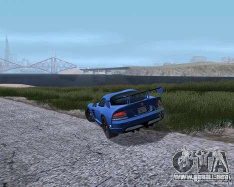 ENB Series by LeRxaR v 2.0 para GTA San Andreas quinta pantalla