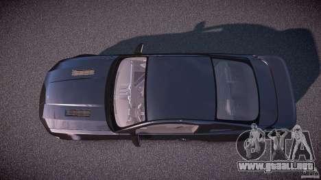 Saleen S281 Extreme Unmarked Police Car - v1.1 para GTA 4 visión correcta