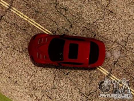 Mazda RX8 Reventon para GTA San Andreas interior