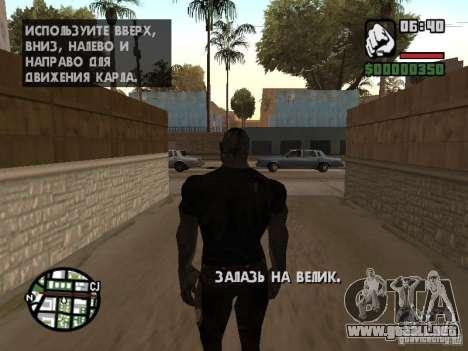 Zombe from Gothic para GTA San Andreas séptima pantalla