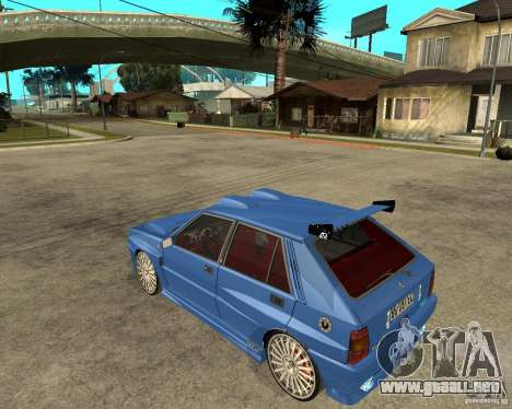 Lancia Delta Sparco para GTA San Andreas