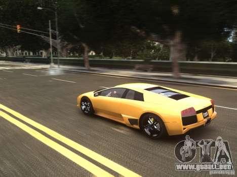 Lamborghini Murcielago LP640 2007 para GTA 4 vista interior
