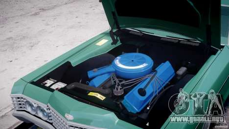 Mercury Monterey 2DR 1972 para GTA 4 vista interior