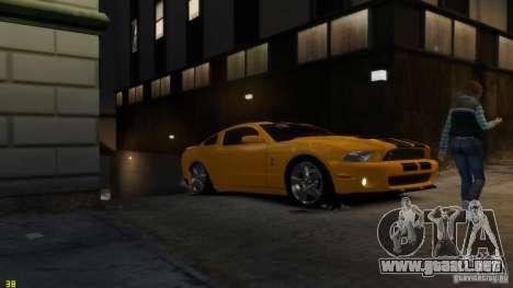 Ford Shelby Mustang GT500 2011 v2.0 para GTA motor 4