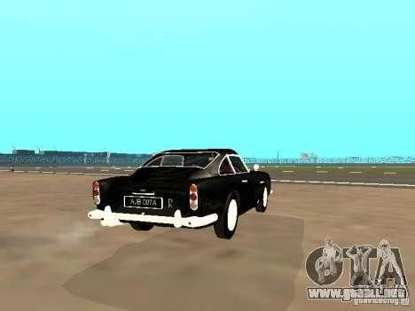 Aston Martin DB5 para la visión correcta GTA San Andreas