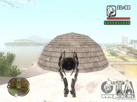 Robot de Portal 2 # 2 para GTA San Andreas