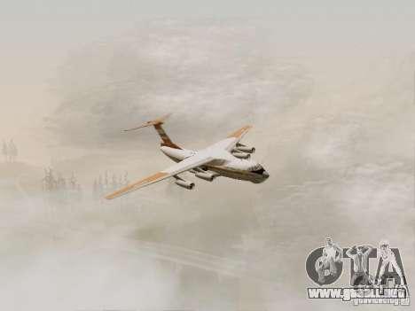 Ilyushin Il-76td para la visión correcta GTA San Andreas