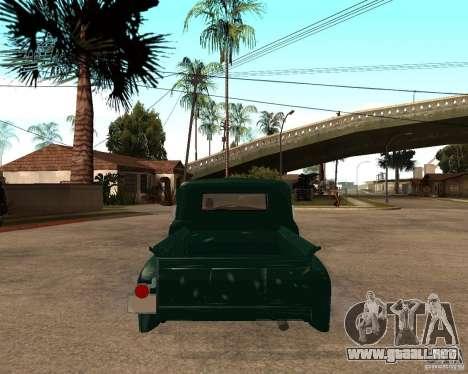 ZIL 130 ardiente Tempe v1.0 para GTA San Andreas left