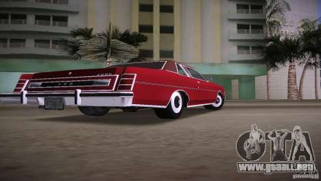 Ford LTD Brougham Coupe para GTA Vice City left