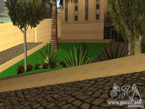 Nuevo hospital LAN para GTA San Andreas sucesivamente de pantalla