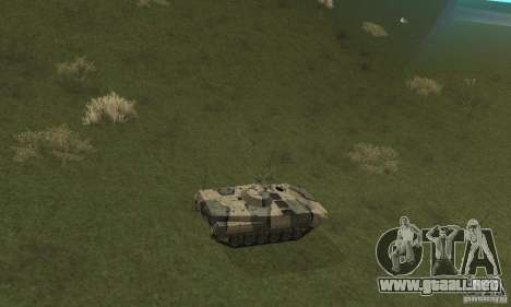 Camo BMP-1 para GTA San Andreas vista hacia atrás