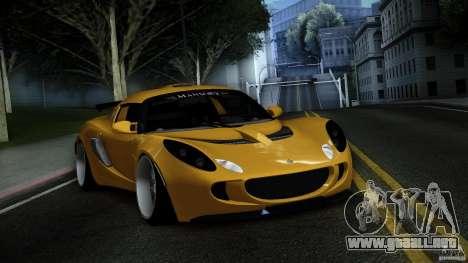 Lotus Exige Track Car para vista lateral GTA San Andreas