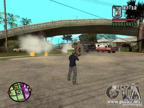 Inodoro para GTA San Andreas tercera pantalla