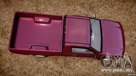 Chevrolet Colorado 2005 para GTA 4 visión correcta