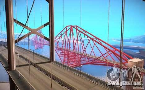 ENBSeries for SA-MP para GTA San Andreas segunda pantalla