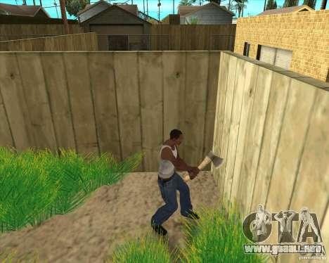 Armas de call of duty para GTA San Andreas sexta pantalla