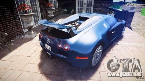 Bugatti Veyron 16.4 v3.0 2005 [EPM] Strasbourg para GTA 4 vista desde abajo