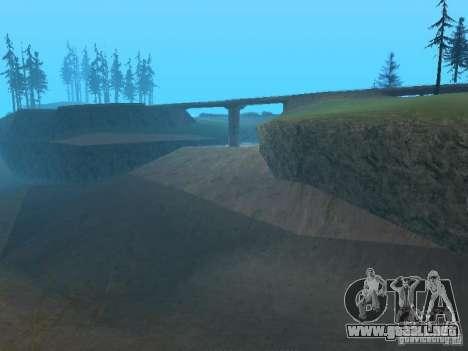 No hay agua para GTA San Andreas sucesivamente de pantalla