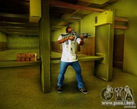 Tavor Tar-21 Digital para GTA San Andreas sexta pantalla