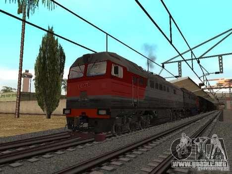 Final de ferrocarril mod IV para GTA San Andreas segunda pantalla