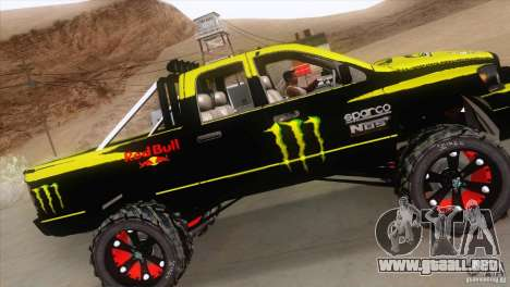 Dodge Ram 4x4 para visión interna GTA San Andreas
