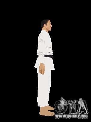 Reteksturirovannye karate para GTA San Andreas quinta pantalla