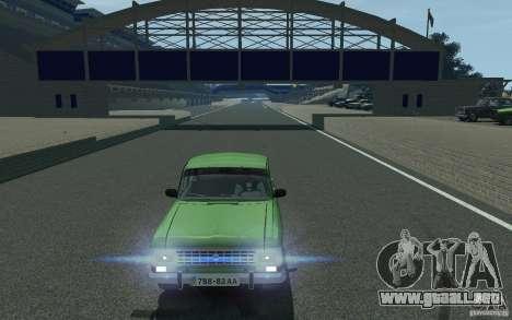 Moskvich 412 para GTA 4 vista hacia atrás