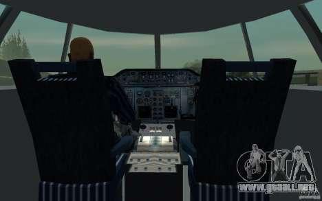 Airbus A310 S7 Airlines para vista lateral GTA San Andreas