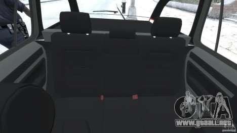Skoda Octavia Scout Unmarked [ELS] para GTA 4 vista hacia atrás