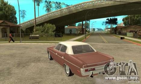 AMC Matador 1971 para GTA San Andreas vista posterior izquierda