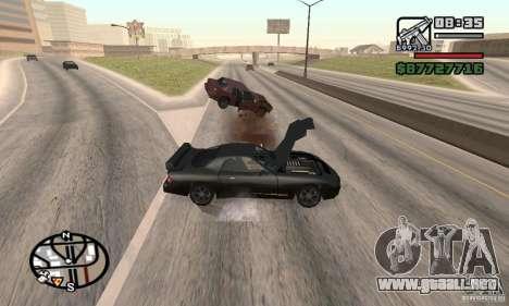 La pérdida de vidas en el accidente para GTA San Andreas