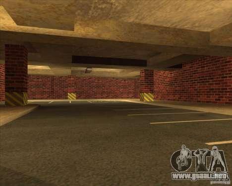 Policía de garaje nueva LSPD para GTA San Andreas tercera pantalla
